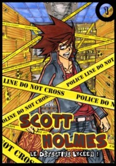 ScottHolmes : manga couverture