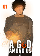 A God among us: couverture