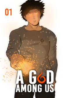 A God among us : manga cover