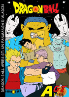 DRAGON BALL APRES GT: couverture