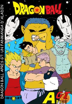 DRAGON BALL APRES GT : manga cover