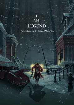 I Am Legend : comic couverture