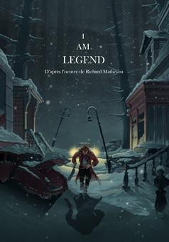 I Am Legend : comic cover