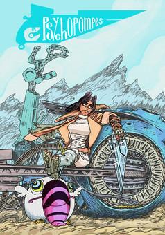 Psychopompes : comic cover