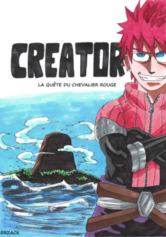 creator, red knight's quest : manga cover