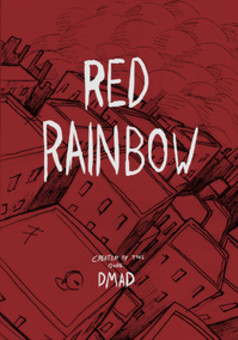 Red Rainbow : comic cover