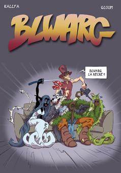 BLWARG - La récré ! : comic cover