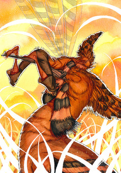 Plumes : comic cover
