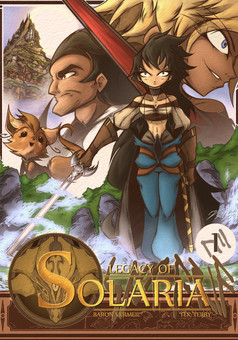 Legacy of Solaria : manga cover