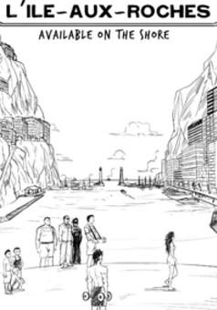 L'île aux Roches : manga couverture