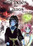 Les Pixies du Chaos (version BD): cover
