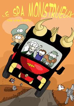 Le Spa Monstrueux : manga couverture