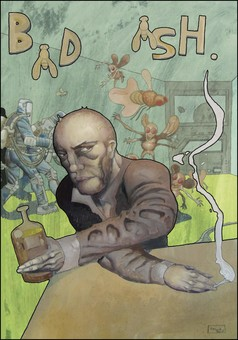 The christ of flies : comic couverture