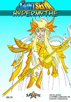 Saint Seiya : Hypermythe : manga couverture