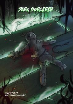 Dark Sorcerer side stories : manga cover