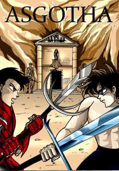 Asgotha : comic cover