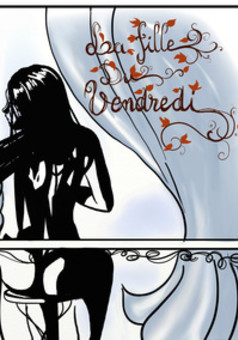 La Fille du vendredi : comic couverture