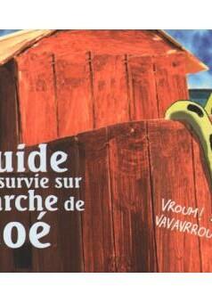 Guide de survie sur l'arche. : comic cover