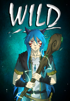 WILD : manga portada
