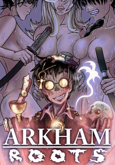 ARKHAM roots : manga cover
