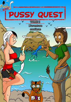 Pussy Quest : manga couverture