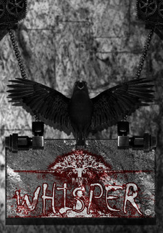 Whisper : comic cover