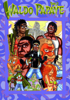 WALDO PAPAYE : manga couverture