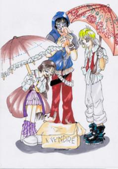 La meute solitaire artbook  : manga portada