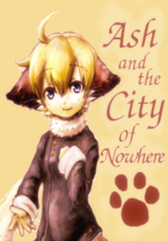 Ash and the City of Nowhere : manga portada