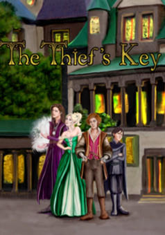 The Thief's Key : comic cover