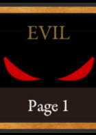 Evil: cover