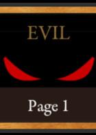 Evil: portada