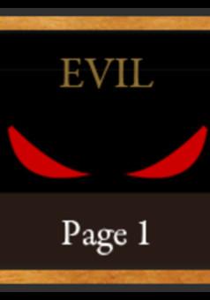 Evil : comic cover