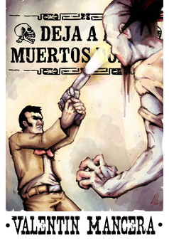 Valentín Mancera : comic portada