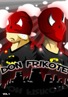 Don Frikote : comic cover