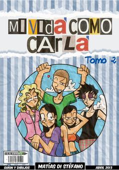 Mi vida Como Carla : comic cover