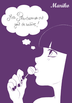 Mes Phantasmes  : comic couverture