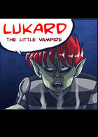 LUKARD, the little vampire: cover