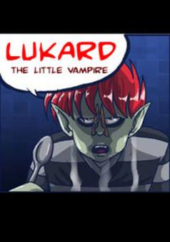 LUKARD, the little vampire : comic cover