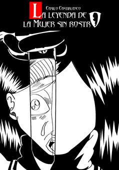 la mujer sin rostro : comic cover