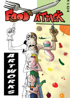 Food Attack: Artworks: cover