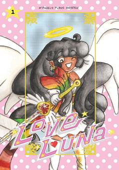 Love Luna: Il·lustracions : manga cover