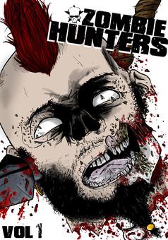 Zombie Hunters : manga couverture