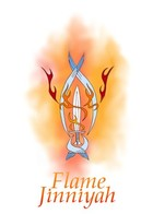 Flame Jinniyah: cover