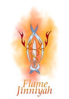 Flame Jinniyah : manga portada
