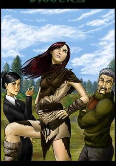 Diggers : manga cover