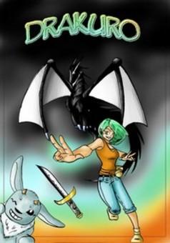 Drakuro : manga couverture