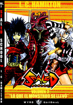 Sealed School : manga cover