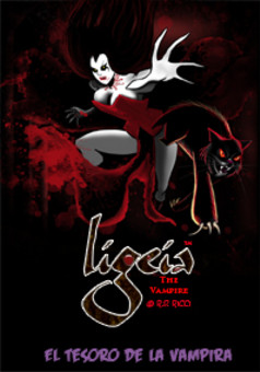 Ligeia the Vampire : comic couverture