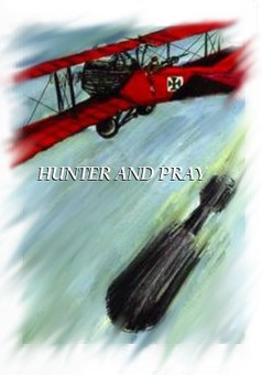 Hunter and Prey : comic couverture